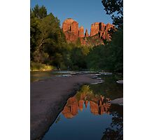 Reflection at Cathedral Rock Photographic Print