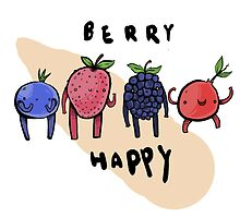Berry Happy by squidincart