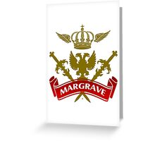 The Margrave Coat-of-Arms Greeting Card