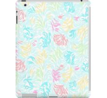 Cute Summer Pastel Watercolor Brush Strokes Pattern iPad Case/Skin
