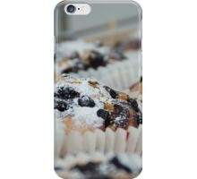 Chocolate chip cup cakes iPhone Case/Skin
