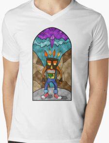 Supercharged Mens V-Neck T-Shirt