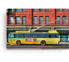 Bus Online Canvas Print
