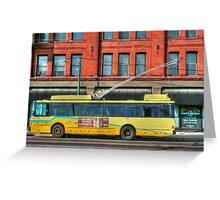 Bus Online Greeting Card