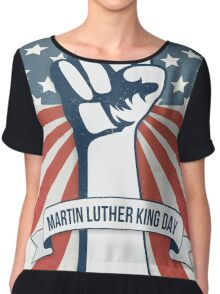 Martin Luther King Day Chiffon Top