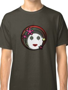 Flower Space Girl Classic T-Shirt