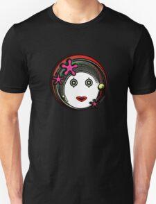 Flower Space Girl Unisex T-Shirt