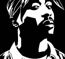 Tupac by RobbDeep