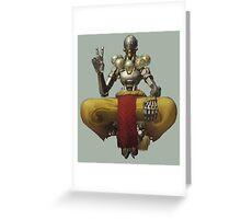 Overwatch Zenyatta Peace Greeting Card