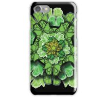 Butterfly Effect - Green iPhone Case/Skin