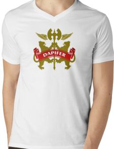 The Dapifer Coat-of-Arms Mens V-Neck T-Shirt