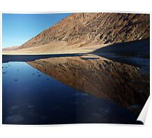 Badwater in Death Valley Poster