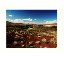 Death Valley Red Art Print
