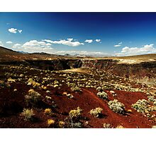 Death Valley Red Photographic Print