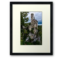 Lichtenstein Castle - Baden-wurttemberg - Germany Framed Print
