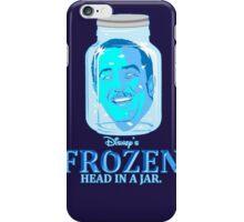 FROZEN (Head in a Jar) iPhone Case/Skin