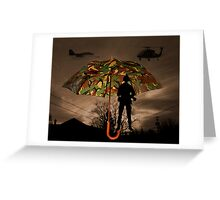 UNDER COVER -PICTURE/CARD Greeting Card