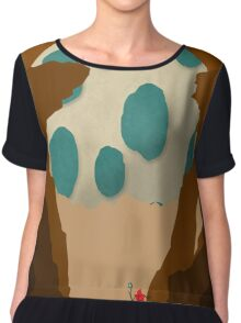The last of his kind Chiffon Top
