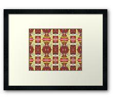 """""""Feeling Good Abstract"""" variation Framed Print"""