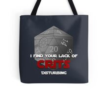Where are the crits!? Tote Bag
