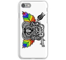 Rainbow Rose graffiti love wins iPhone Case/Skin