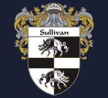 Sullivan Coat of Arms / Sullivan Family Crest Kids Tee