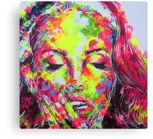 LANA DEL REY / EYES WIDE SHUT Canvas Print
