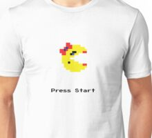 Press Start and Play Ms. Pacman Unisex T-Shirt