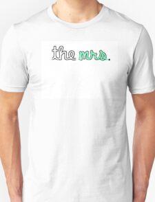 """""""The Mrs."""" Racerback Tank T-Shirt"""