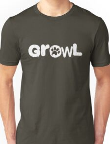 growl [paws] Unisex T-Shirt