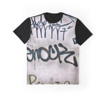 Graffiti Tags Graphic T-Shirt