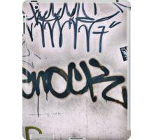 Graffiti Tags iPad Case/Skin