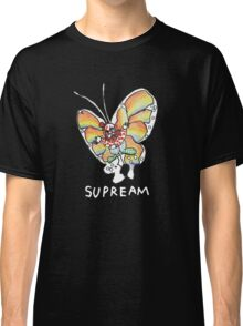 Supreme 'SUPREAM' Butterfly - Black/Navy Blue Classic T-Shirt