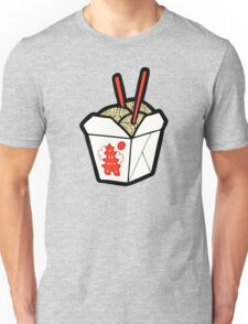 Take-Out Noodles Box Pattern Unisex T-Shirt