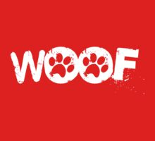 woof [paws] One Piece - Short Sleeve