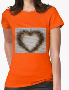 Dark Heart  Womens Fitted T-Shirt