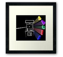 Tetris Floyd Framed Print