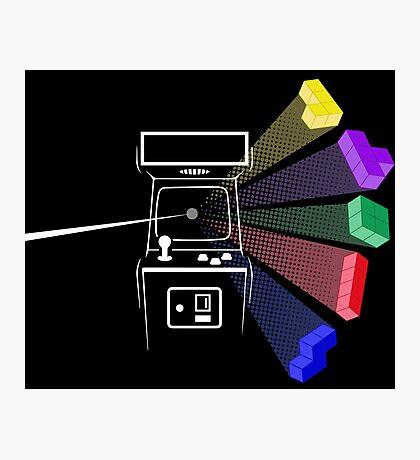 Tetris Floyd Photographic Print