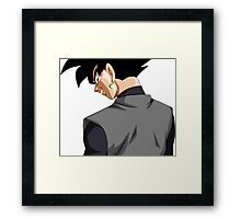Black Goku   Framed Print