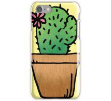 Cute ass cactus iPhone Case/Skin