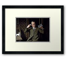 Ernest Hare, thoughts on Prohibition, ca. 1920 Framed Print