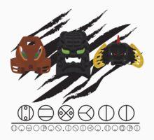Hewkii Mask Evolution Kids Clothes