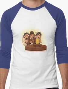 Raiders Men's Baseball ¾ T-Shirt
