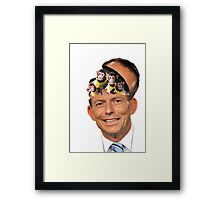 Monkey Brains Framed Print