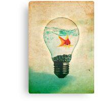 Fish Bulb Canvas Print