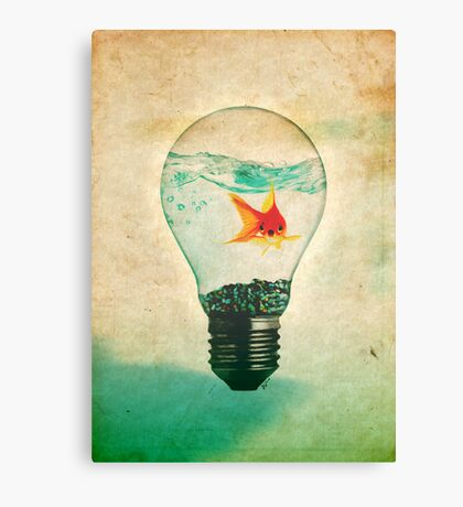 Fish Bulb Canvas Print