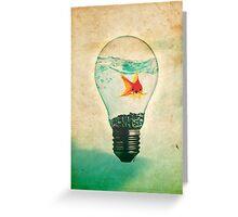 Fish Bulb Greeting Card