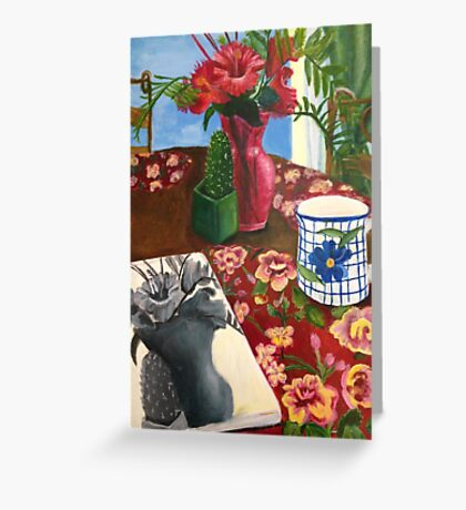 Kitchen Still life Greeting Card
