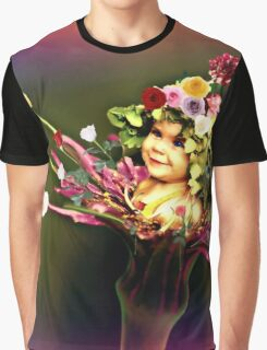 Flower Child 3 Graphic T-Shirt