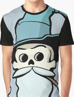 Skull Wizard Graphic T-Shirt